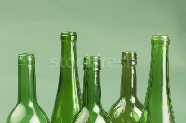 Boş şişeler parti içmek şişe Stok fotoğraf © imagedb