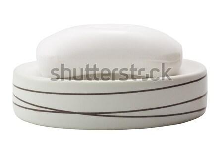 Бар мыло блюдо дизайна каменные Сток-фото © imagedb