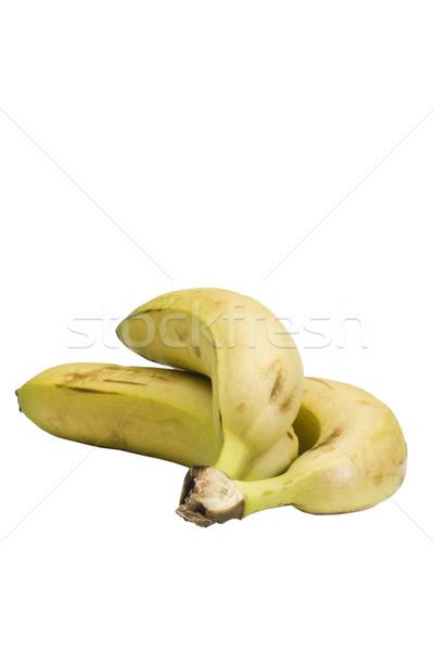Foto d'archivio: Primo · piano · tre · banane · frutta · banana · fresche