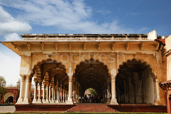 Fort India cielo gruppo nube architettura Foto d'archivio © imagedb