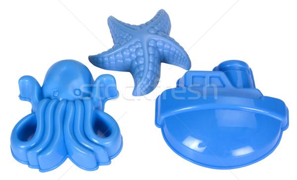 Zabawki zabawki wzór plastikowe Rozgwiazda Zdjęcia stock © imagedb