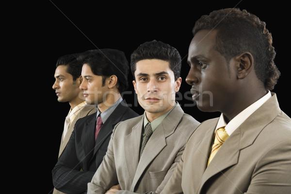 肖像 ビジネスマン 立って 同僚 ビジネス 写真 ストックフォト © imagedb