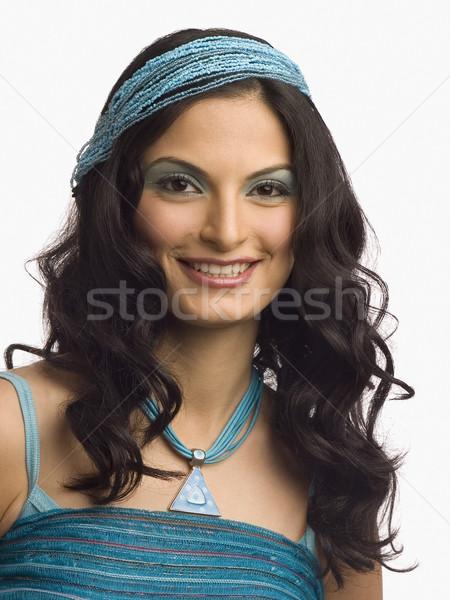 Retrato femenino moda modelo posando mujer Foto stock © imagedb