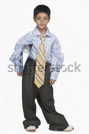 Retrato nino ropa Foto stock © imagedb