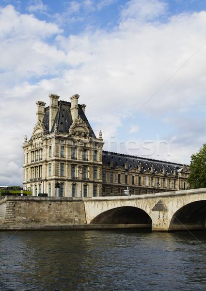 Paleis Luxemburg rivier Parijs Frankrijk Stockfoto © imagedb