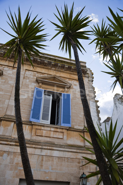 Alulról fotózva kilátás épület ablak építészet fotózás Stock fotó © imagedb