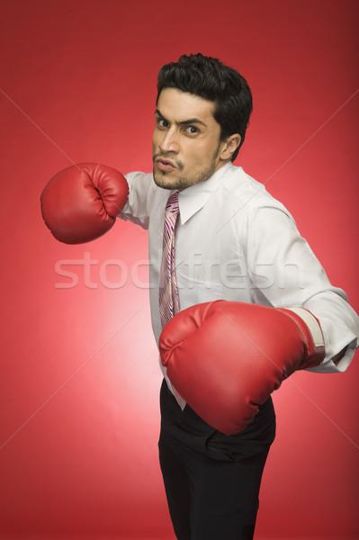 Ritratto imprenditore indossare uomo sport Foto d'archivio © imagedb