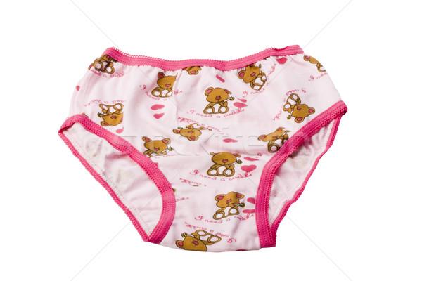 Ontwerp kleding teddybeer fotografie witte achtergrond Stockfoto © imagedb