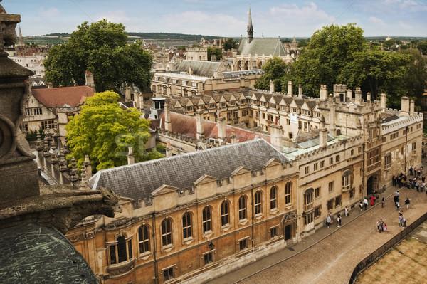 университета зданий город Оксфорд Оксфордшир Англии Сток-фото © imagedb