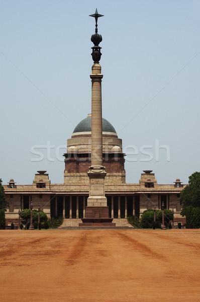 Photo stock: Façade · gouvernement · bâtiment · colonne · new · delhi · Inde