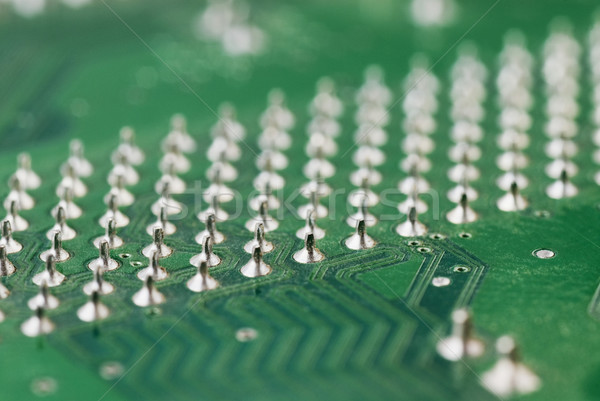 Közelkép nyáklap fém stúdió hátterek áramkör Stock fotó © imagedb