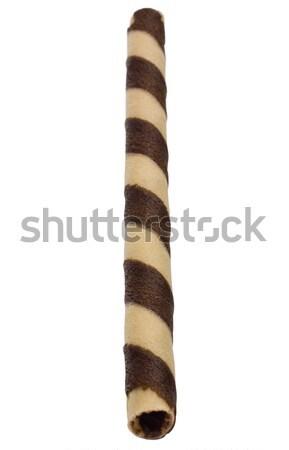 Közelkép cukorka bot édes menta fotózás Stock fotó © imagedb