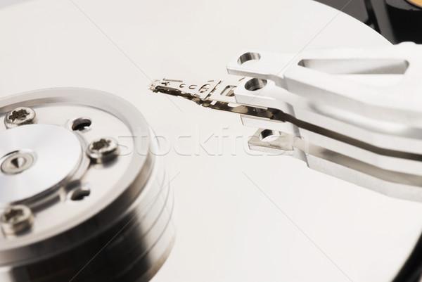 Közelkép számítógép merevlemez technológia gép stúdió Stock fotó © imagedb