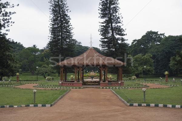 Estrutura jardim botânico jardim arquitetura fotografia Índia Foto stock © imagedb