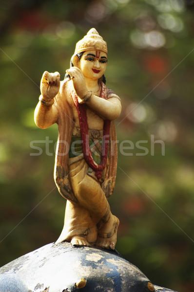 像 クリシュナ 庭園 寺 ニューデリー インド ストックフォト © imagedb
