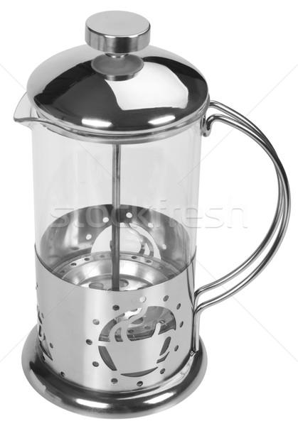 кофеварка фотографии пусто вертикальный Сток-фото © imagedb