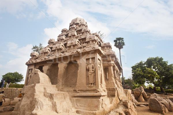 古代 寺 地区 インド 空 石 ストックフォト © imagedb