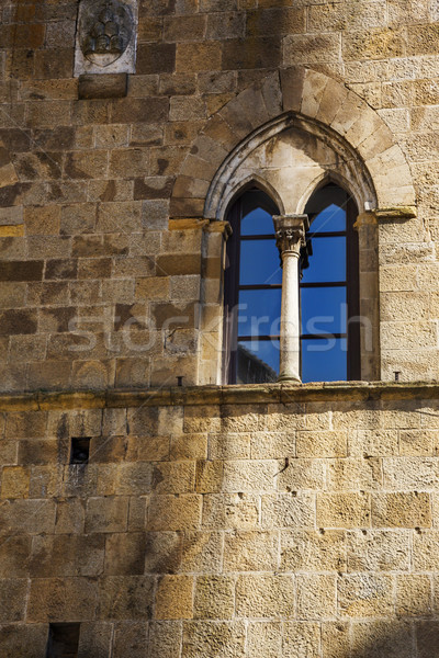 Low angle view of window of a palace Stock photo © imagedb