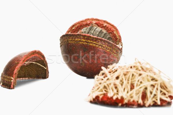 Dışarı kriket top spor Stok fotoğraf © imagedb