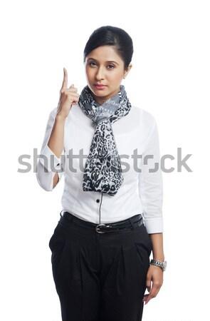 Portret zakenvrouw business vrouw fotografie Stockfoto © imagedb