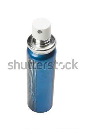 Aerossol lata azul recipiente spray Foto stock © imagedb