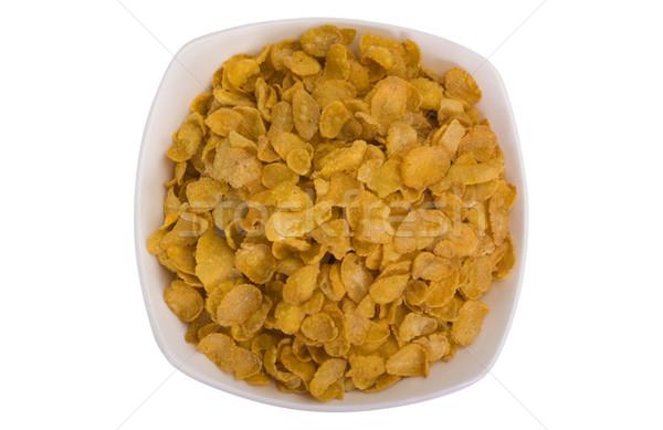 Puchar żywności śniadanie żółty Zdjęcia stock © imagedb