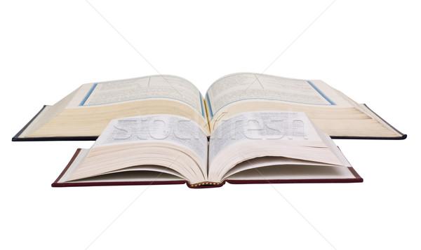 Bíblia islão fé horizontal conceitos Foto stock © imagedb