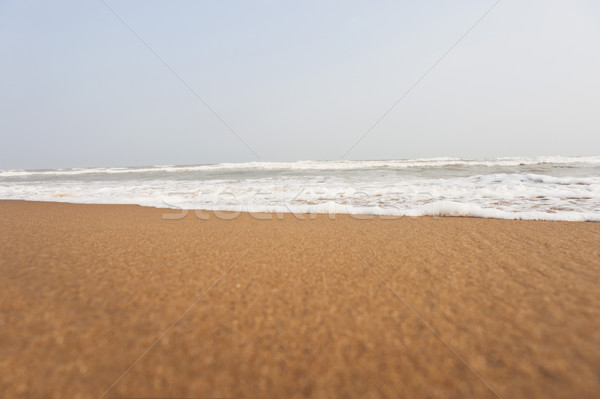 Surf on the beach, Puri, Orissa, India Stock photo © imagedb