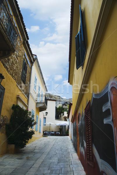 Bâtiments rue Athènes Grèce maison bâtiment Photo stock © imagedb