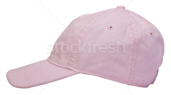 Közelkép baseballsapka sport kalap rózsaszín sapka Stock fotó © imagedb