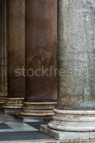 Columns in a row Stock photo © imagedb