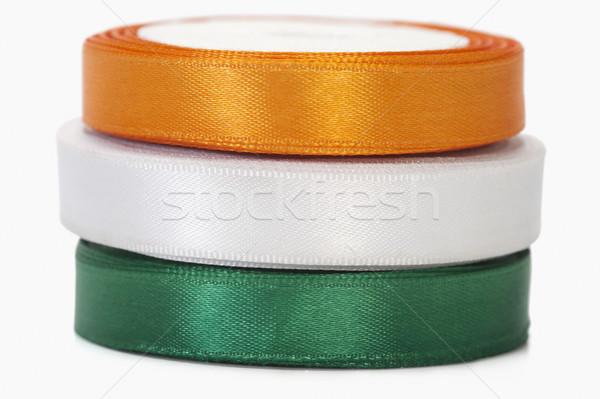 индийской флаг цветами свободу украшение Сток-фото © imagedb