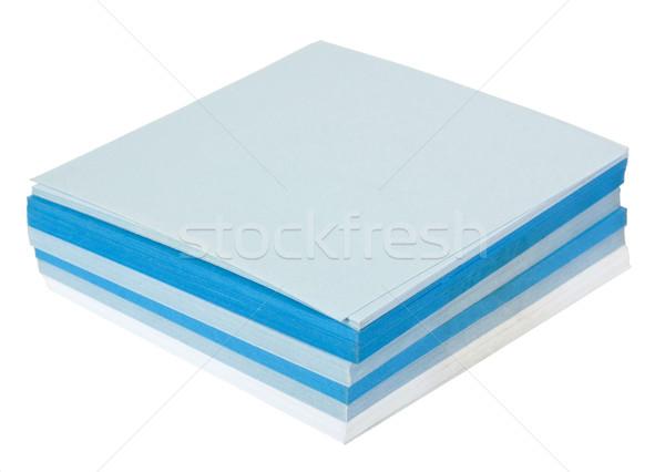 клей отмечает бизнеса синий группа Сток-фото © imagedb