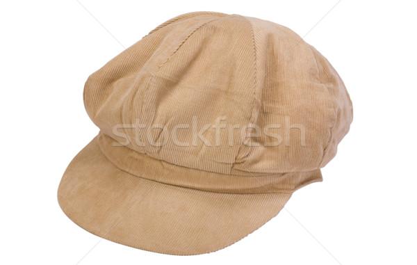 Közelkép divat terv kalap sapka fotózás Stock fotó © imagedb