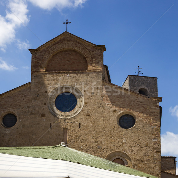 Low angle view of a church Stock photo © imagedb