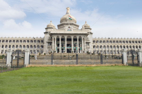Overheid gebouw wolk architectuur Indië Stockfoto © imagedb