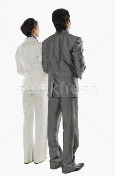 Dois negócio mulher empresário Foto stock © imagedb