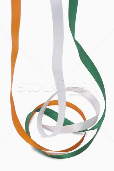 Hint bayrak renkler turuncu özgürlük Stok fotoğraf © imagedb