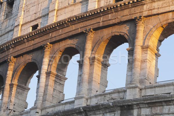 история тень арки Рома римской улице Сток-фото © imagedb