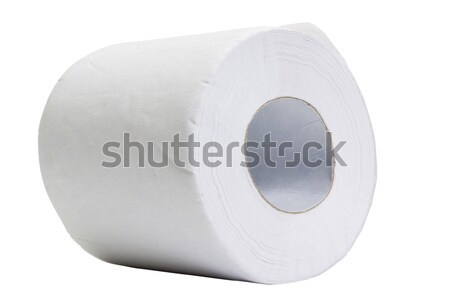 Toilettenpapier rollen Kreis weichen close-up Stock foto © imagedb
