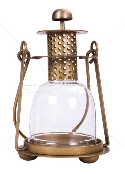 Közelkép lámpás terv fém lámpa minta Stock fotó © imagedb