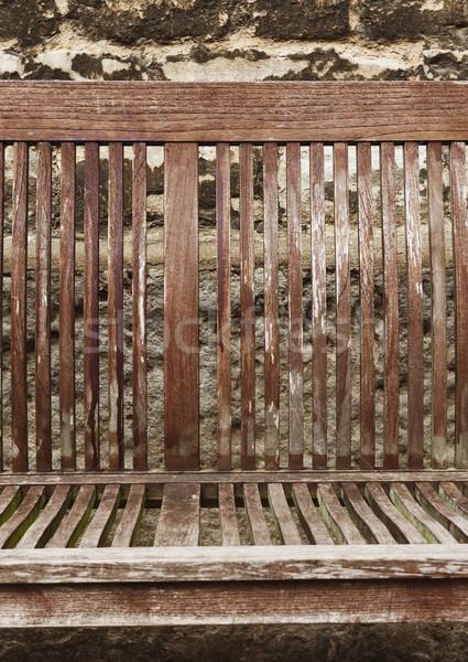 скамейке Оксфорд Оксфордшир Англии Сток-фото © imagedb