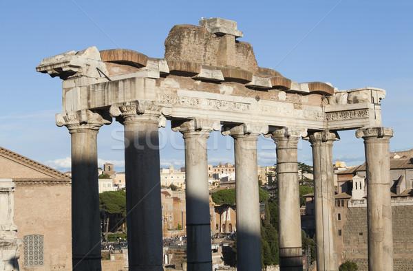 Europa geschiedenis oude roma Romeinse buitenshuis Stockfoto © imagedb
