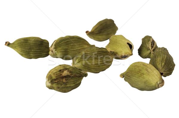 Közelkép zöld csoport friss gyógynövény vízszintes Stock fotó © imagedb