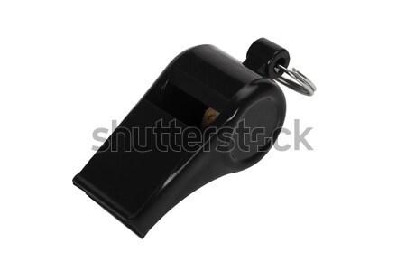 свистеть спортивных связи черный пластиковых Сток-фото © imagedb