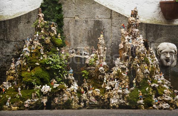 Miniature fountain Stock photo © imagedb