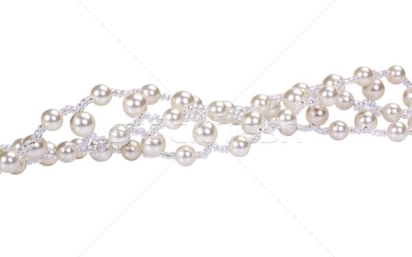 Pearl шаблон Jewel современных роскошь Сток-фото © imagedb