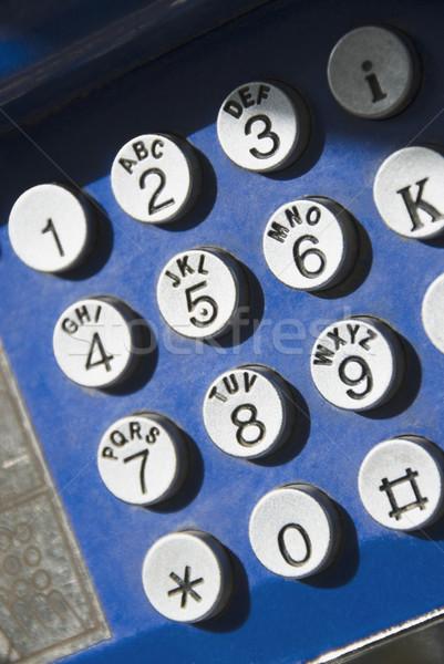 Kulcs telefon Athén Görögország telefon technológia Stock fotó © imagedb