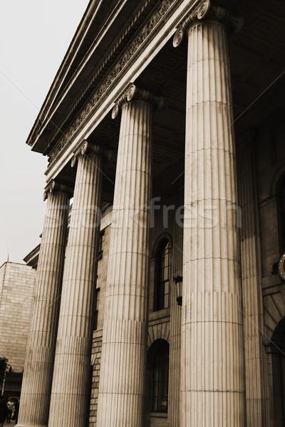 Vista gobierno edificio general oficina de correos Foto stock © imagedb