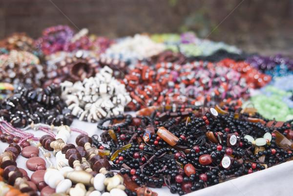 Produits marché new delhi Inde Shopping Photo stock © imagedb